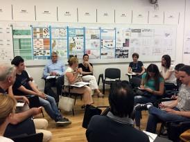 Радионица са експертима у оквиру израде мастер пројеката на студијском програму Интегрални урбанизам – 2016/17