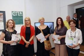 Прва награда на VII Салону пејзажне архитектуре за три публикације завршних радова студената МАС Интегрални урбанизам