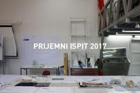 Информације за полагање Пријемног испита 2017.