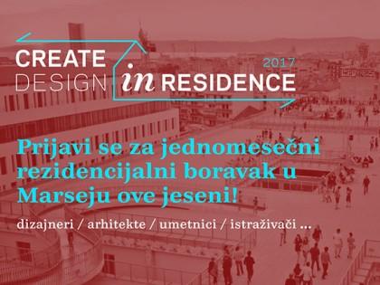 Konkurs za studijski boravak u Marseju: Designer in Residence 2017