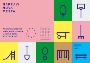 Конкурс за уређење малих јавних простора у Новом Саду: НОВА МЕСТА