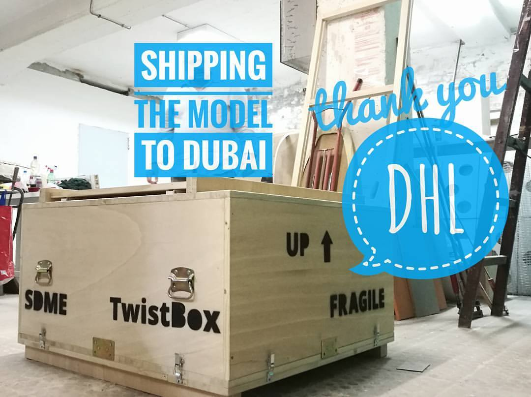 Twist BOx and DHL
