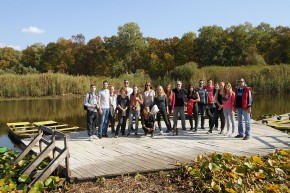 Студенти прве године МАСА у посети Обедској бари: сусрет природе и историје као пројектни контекст