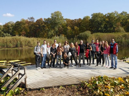 Studenti prve godine MASA u poseti Obedskoj bari: susret prirode i istorije kao projektni kontekst