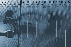 Изложба и трибина: Архитектура Миленије и Дарка Марушића