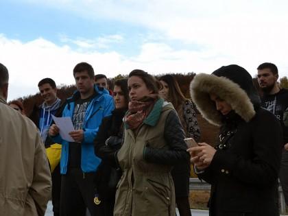 """Студенти друге године МАСА у посети Власини: """"Креирање и обликовање у природном окружењу – предео посебних природних одлика"""""""