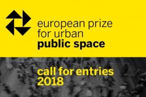 Konkurs: Evropska nagrada za urbani javni prostor 2018. (European Prize for Urban Public Space 2018)