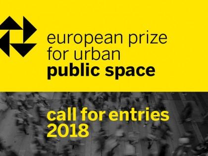 Конкурс: Европска награда за урбани јавни простор 2018. (European Prize for Urban Public Space 2018)