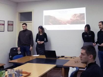 Studenti prezentovali strategiju integralnog urbanog razvoja u Regionalnoj razvojnoj agenciji Zlatibor