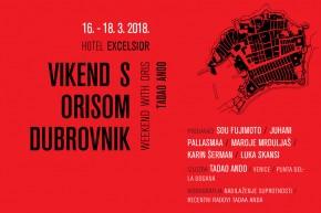 Викенд с Орисом – Дубровник: 16–18. март 2018.