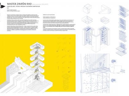Grad Golubac: studije i projekat unutrašnje arhitekture