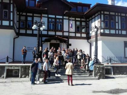 Посета студената и наставника Београдској тврђави 02. априла 2018.