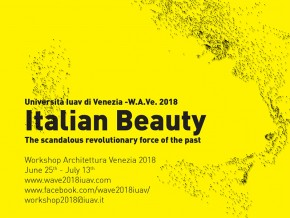 Радионица W.A.Ve 2018 – сарадња Universita IUAV di Venezia и Архитектонског факултета