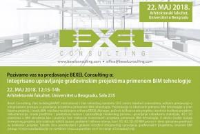 Предавање: Интегрисано управљање грађевинским пројектима применом BIM технологије – BEXEL Consulting