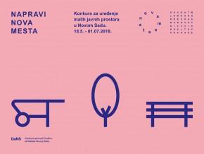 Конкурс за дизајн малих јавних простора у Новом Саду: Нова места