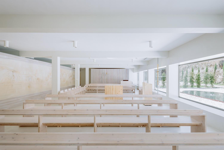 Divine Master Chapel, 2015, site specific arquitectura, © do mal o menos