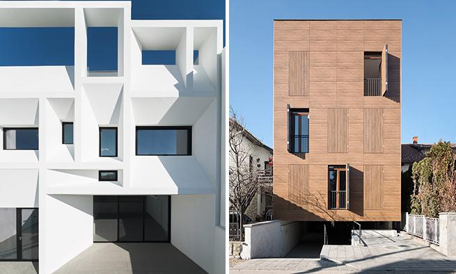Levo Ruben Muedra Casa Brise Soleil Desnno N1 Housing Marija i Petar Simovic Kragujevac