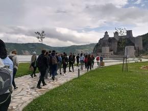 Посета студената и наставника средњовековним утврђеним градовима Голубац, Рам и Смедерево, 15. мај 2018.