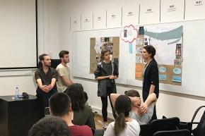 """Студенти презентовали Стратегију интегралног урбаног развоја """"Омладинска станица"""" у Општини Палилула"""