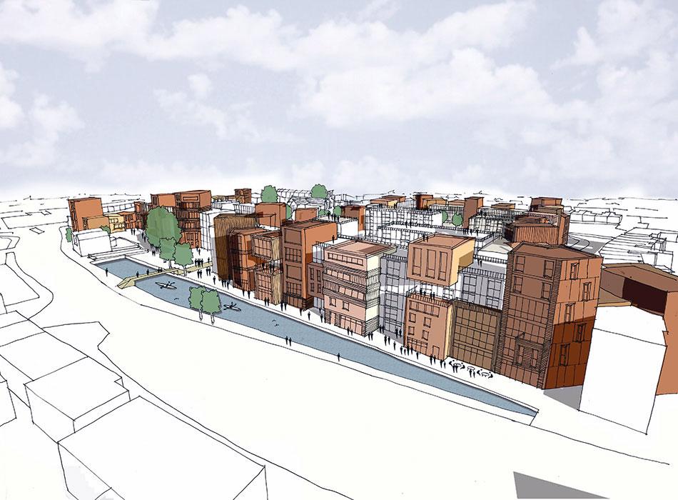 Pope-Priestley-Architects_Hillington-Square-Site