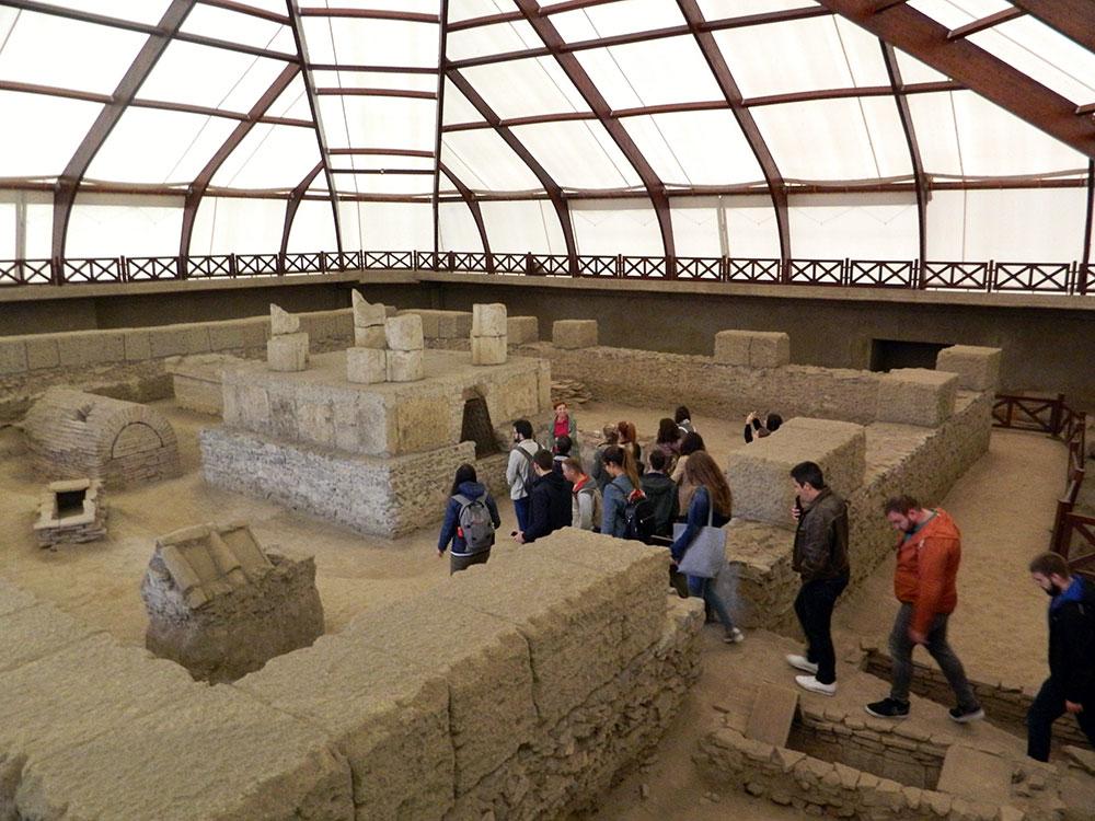 Poseta Studenata I Nastavnika Arheoloskom Lokalitetu Viminacijum