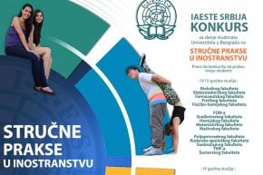 Конкурс: IAESTE – стручна пракса у иностранству у току 2019. године