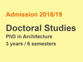 Call For Applications To Doctoral Studies (PhD) In English, Academic Year 2018/19