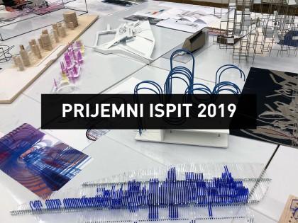 Информације о организацији и карактеру Пријемног испита 2019.