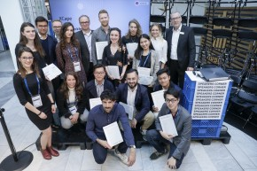 Great success of our students at international student competition: TEXTILE STRUCTURES FOR NEW BUILDING 2019