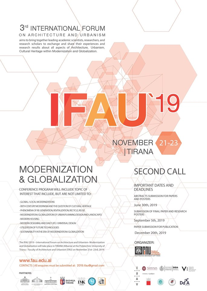 IFAU 2019-SECOND CALL
