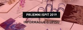 Procedura upisa u prvu godinu studija 2019/20 Arhitektonskog fakulteta za: ČETVRTI DAN UPISA
