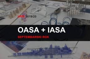 Upis u prvu godinu OAS i IAS Arhitektura 2019/20 – septembarski rok