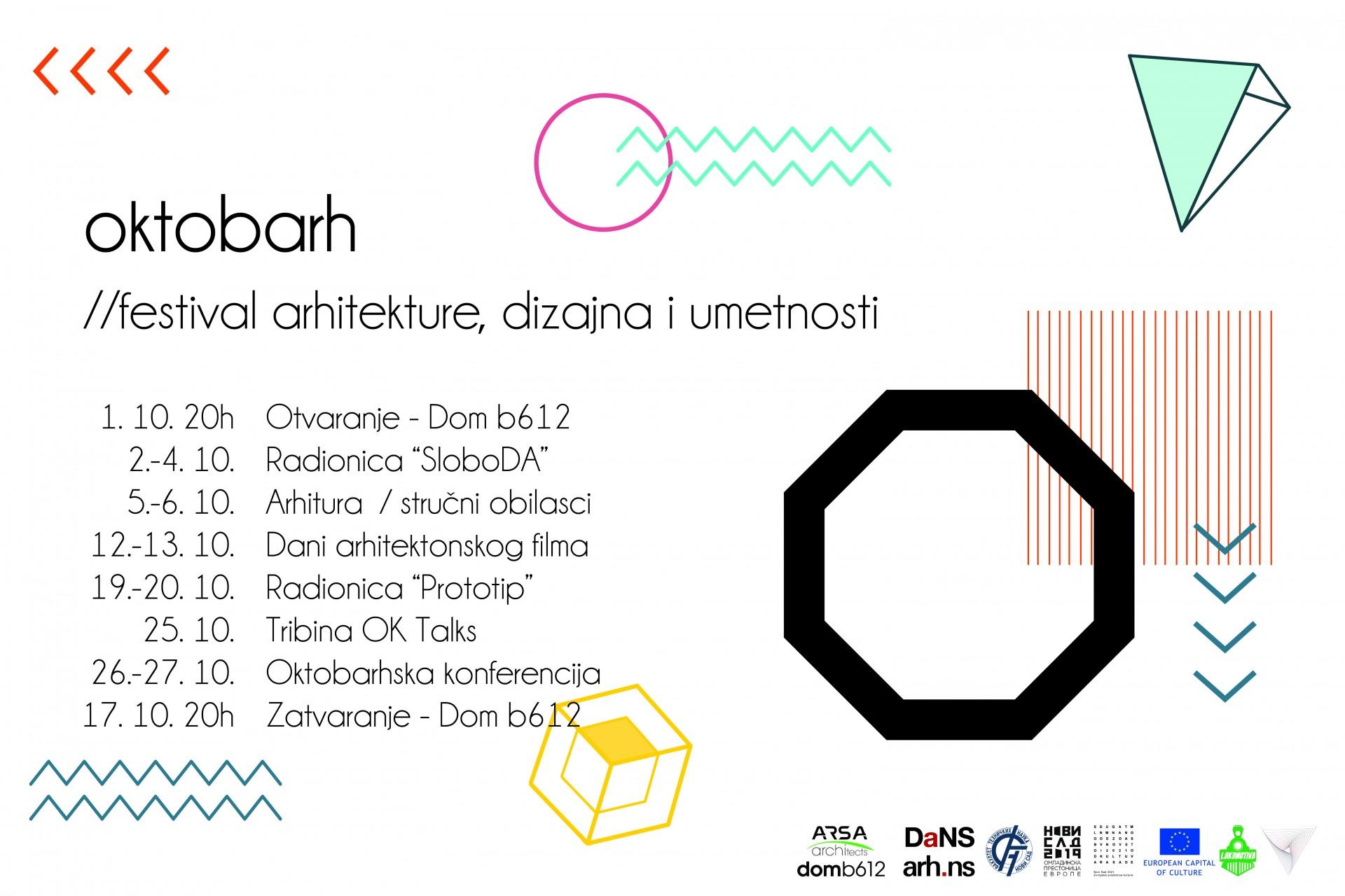 Serija događaja: Oktobarh – Novi Sad, oktobar 2019.