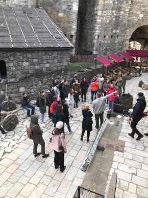 """Студенти Архитектонског факултета на студијском путовању обишли град Смедерево на предмету """"Урбани менаџмент"""""""