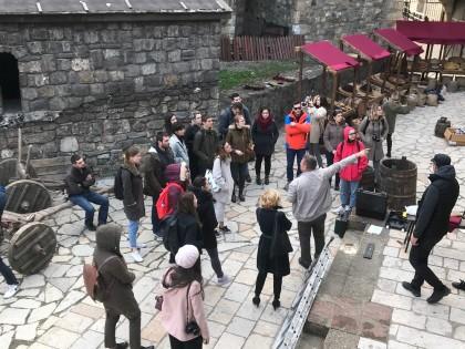 "Studenti Arhitektonskog fakulteta na studijskom putovanju obišli grad Smederevo na predmetu ""Urbani menadžment"""