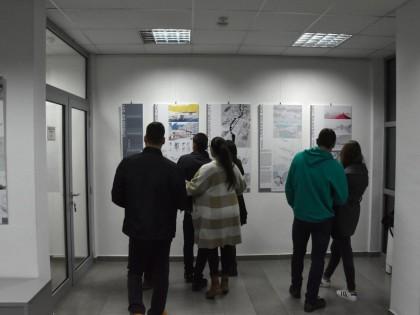 Učešće studenata na međunarodnoj izložbi u Podgorici povodom svetskog dana urbanizma