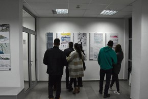 The Participation of the Students of the Faculty of Architecture at an international exhibition in Podgorica, in regard to World Urbanism Day