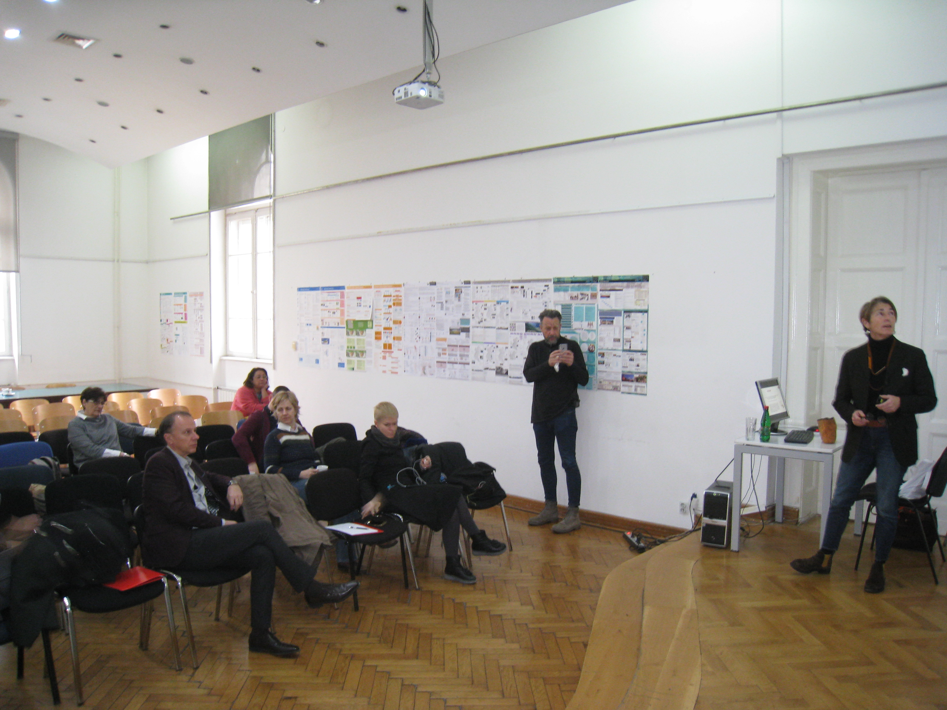 1 Final meeting of Learning Economies team at University of Belgrade Faculty of Architecture