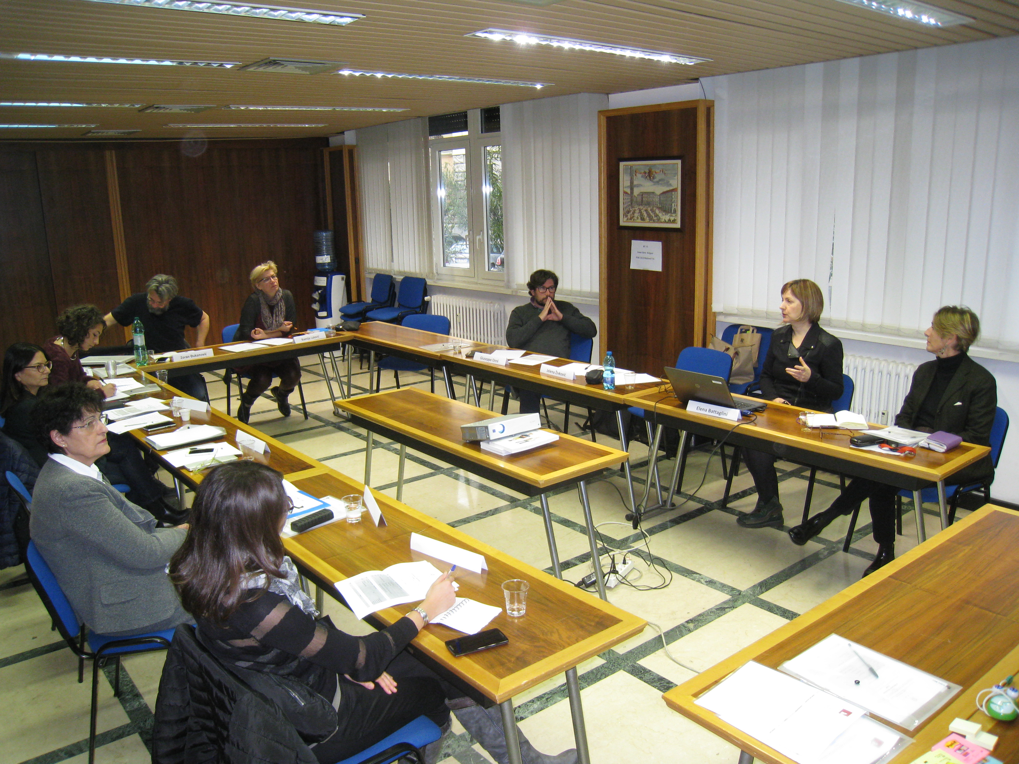 1 Research workshop in Rome