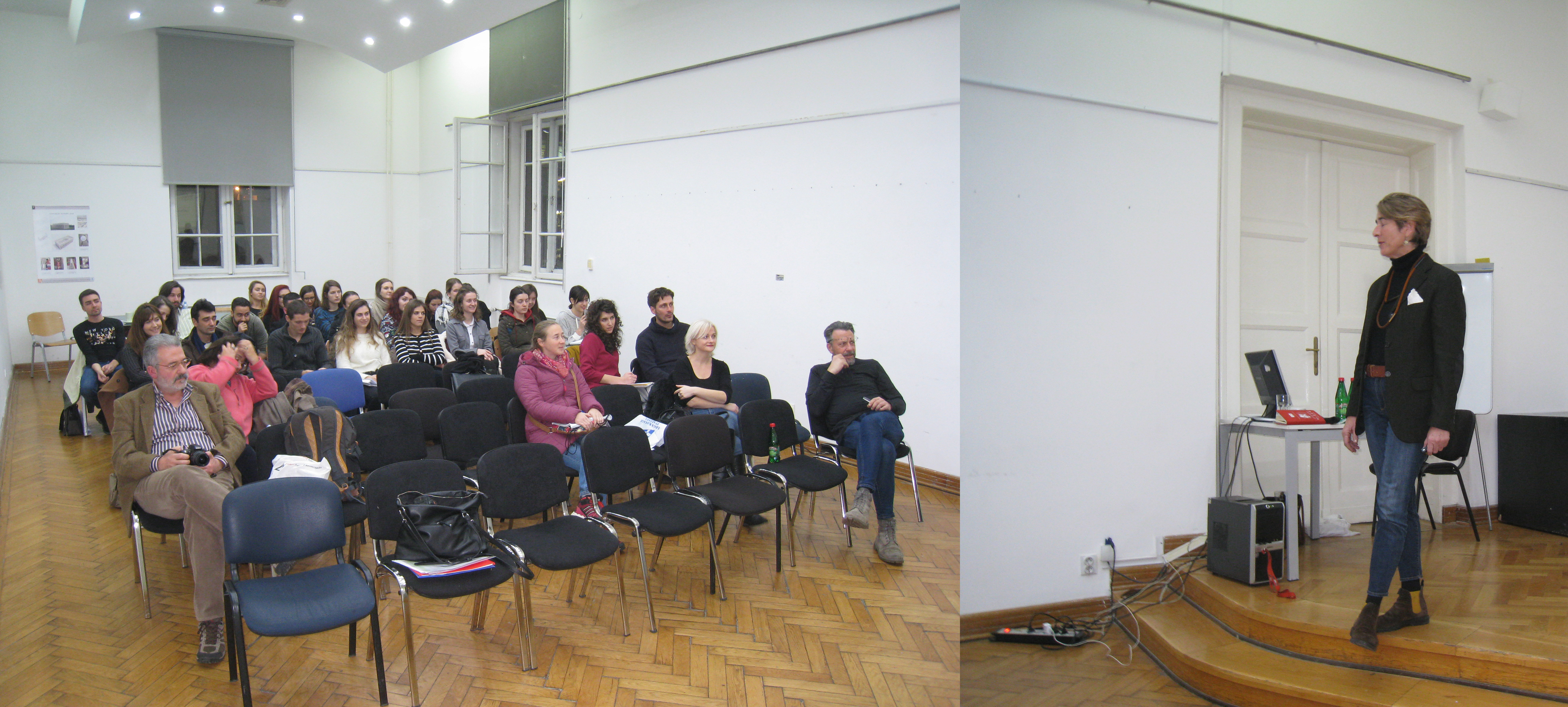 4 Elena Battaglini's Lecture _Unfolding urban heritage conservation as CLLD_  to AF students