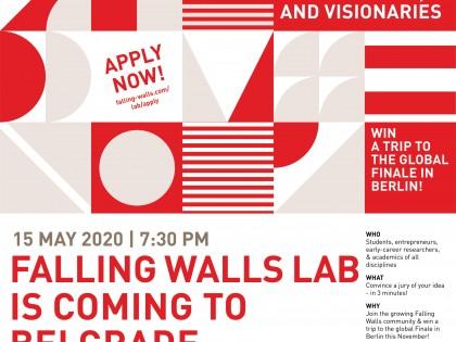 Četvrti  Falling Walls Lab u Srbiji