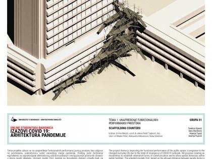 """Реализована онлине студентска радионица """"Изазови ЦОВИД-19: Архитектура пандемије"""""""