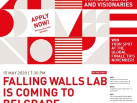Позив на виртуелно такмичење – Falling Walls Lab