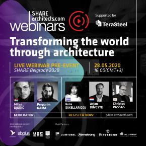 SHARE Architects pokreće novi program live vebinara u maju