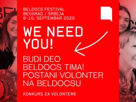 Međunarodni festival dokumentarnog filma Beldocs – poziv za volontere i volonterke