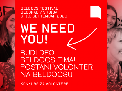 Међународни фестивал документарног филма Beldocs – позив за волонтере и волонтерке