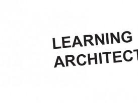Poziv za konferenciju LEARNING ARCHITECTURE