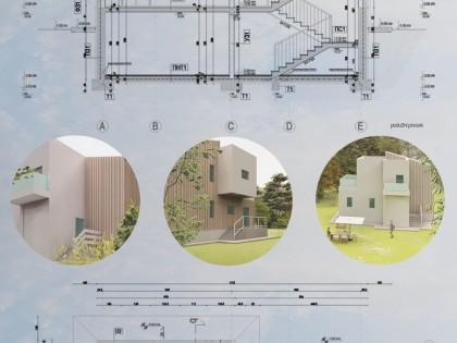 Главни пројекат викенд кућа