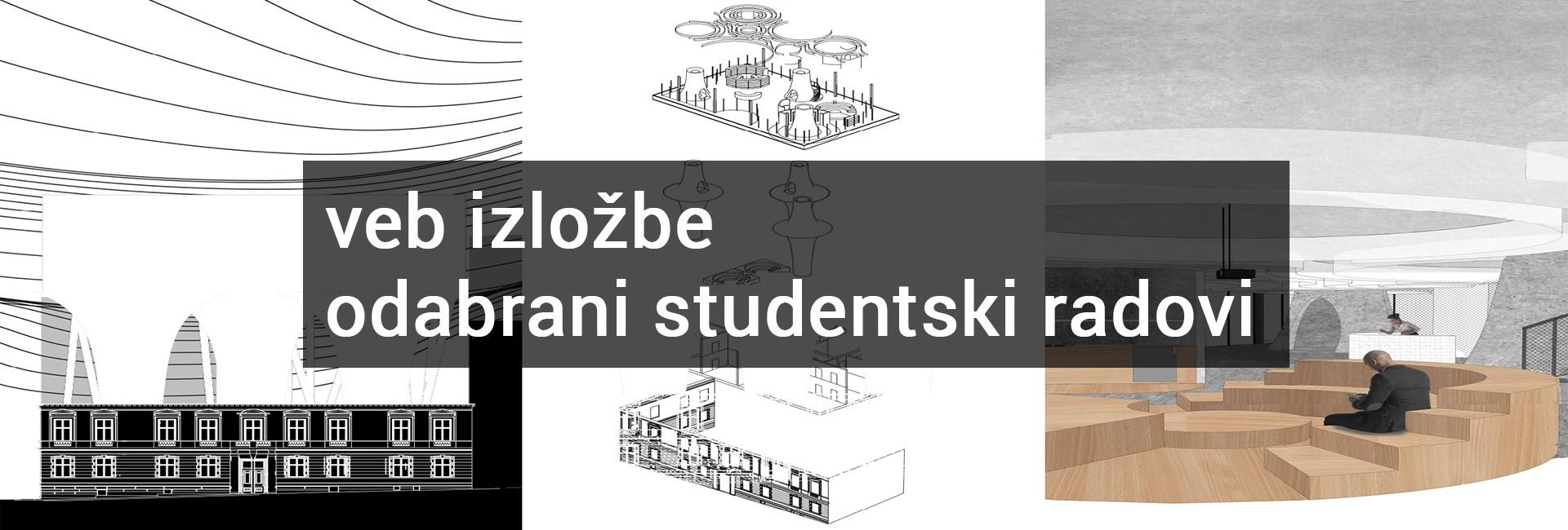 Veb izložbe studentskih radova 2019/20