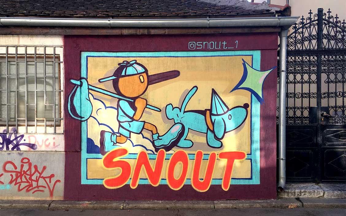 SNOUT-Dorćol_Photo Credit Aleksandar Đalek Đorđević - Beogradski grafiti